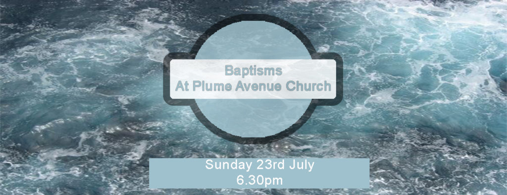 Baptisms at Plume